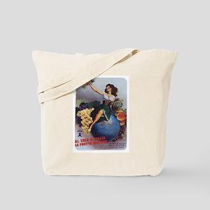 Italian Poster Tote Bag