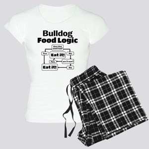 Bulldog Food Women's Light Pajamas