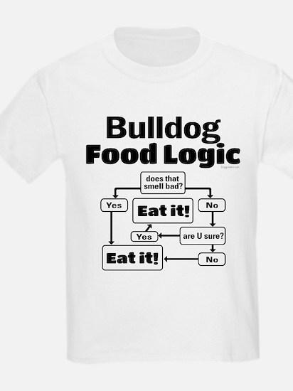 Bulldog Food T-Shirt