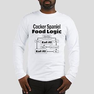 Cocker Spaniel Food Long Sleeve T-Shirt