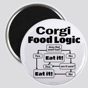 Corgi Food Magnet