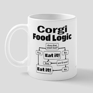 Corgi Food Mug