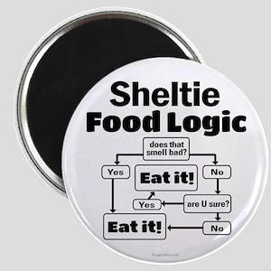 Sheltie Food Magnet