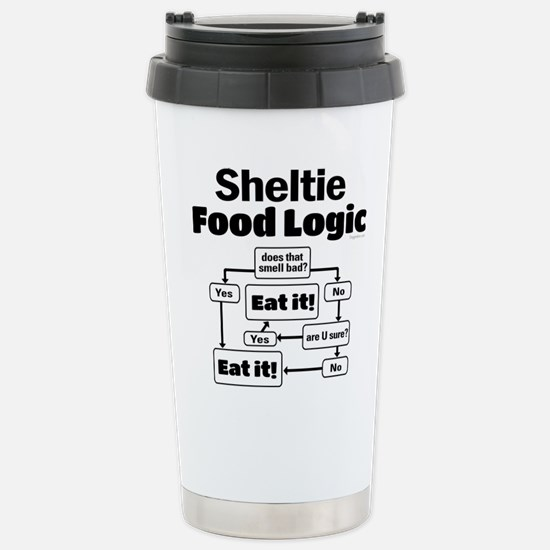Sheltie Food Stainless Steel Travel Mug