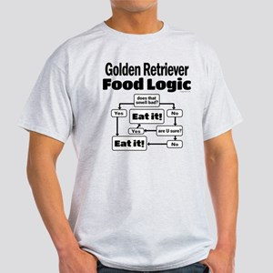 Golden Retriever Food Light T-Shirt