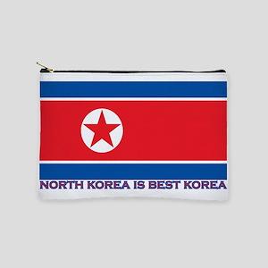 North Korea is best korea Makeup Bag