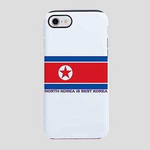 North Korea is best korea iPhone 8/7 Tough Case
