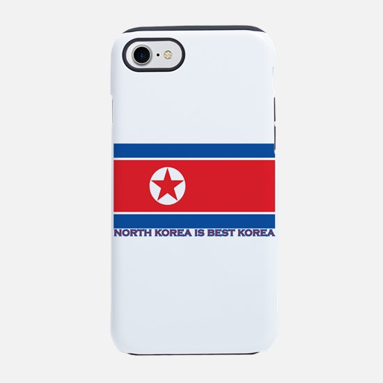 North Korea is best korea iPhone 8/7 Tough Case