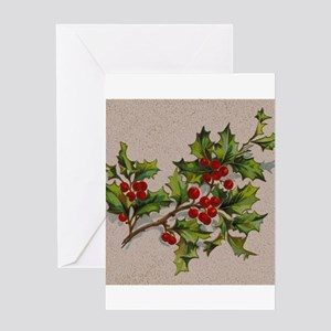 HollyBerries20151105 Greeting Cards