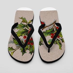 HollyBerries20151105 Flip Flops