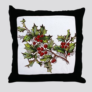 HollyBerries20151104 Throw Pillow