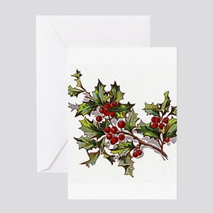HollyBerries20151104 Greeting Cards
