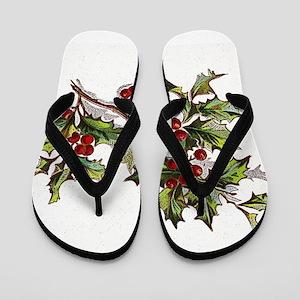 HollyBerries20151104 Flip Flops