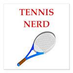 nerd gaming and sports joke Square Car Magnet 3