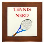 nerd gaming and sports joke Framed Tile
