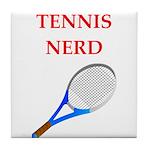 nerd gaming and sports joke Tile Coaster