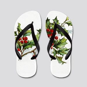 HollyBerries20151101 Flip Flops