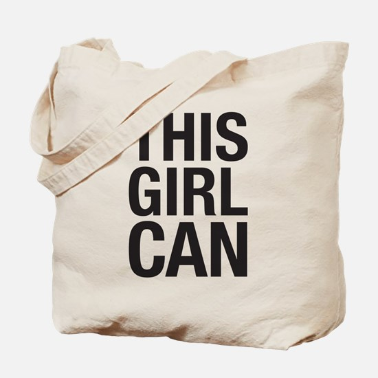 This Girl Can Tote Bag