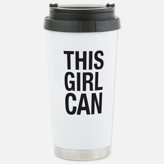 This Girl Can Stainless Steel Travel Mug