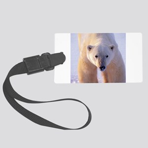 Polar Bear Large Luggage Tag