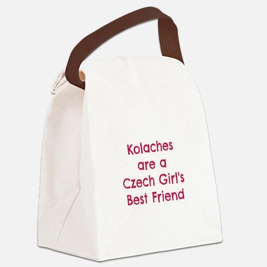Unique Czech Canvas Lunch Bag