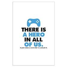 Gaming Hero 2 Posters