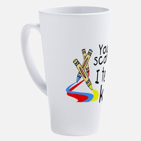 Unique Disabilities 17 oz Latte Mug