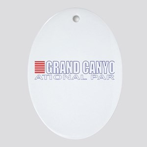 Grand Canyon National Park Oval Ornament