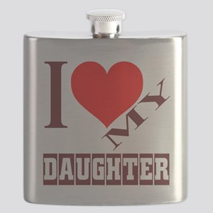 I Love My God Daughter Flask