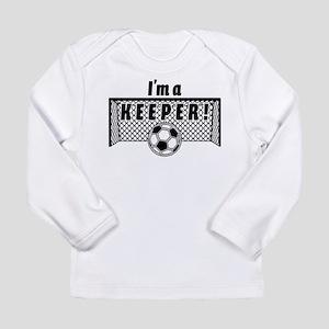 Im a Keeper soccer fancy black Long Sleeve T-Shirt