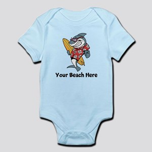 Personalize Shark Body Suit