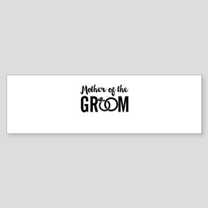 mother of the groom Sticker (Bumper)