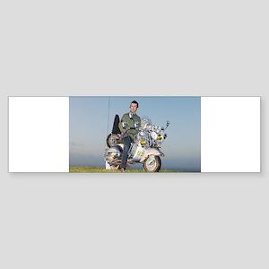 GS VESPA MOD Bumper Sticker