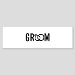 groom Sticker (Bumper)