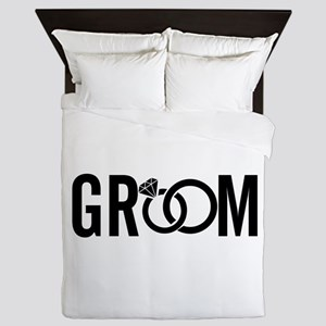groom Queen Duvet
