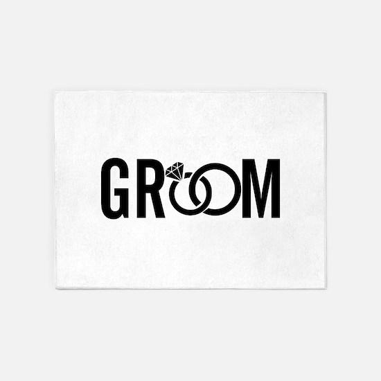 groom 5'x7'Area Rug