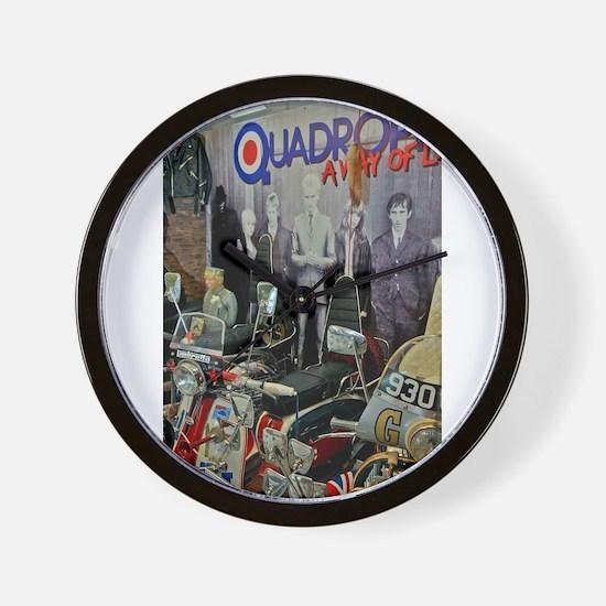 QUADROPHENIA Wall Clock