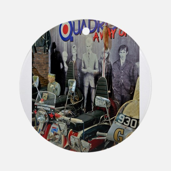 QUADROPHENIA Round Ornament