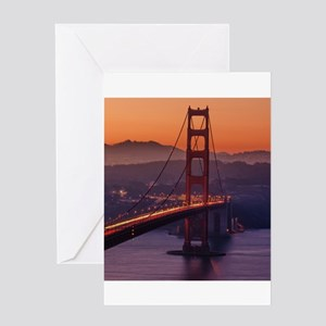 GoldenGateBridge20150823 Greeting Cards