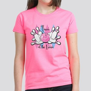 Queen Of The Lanes Women's Dark T-Shirt