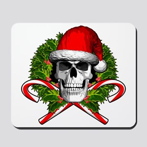 Christmas Skull Mousepad