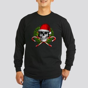 Christmas Skull Long Sleeve T-Shirt