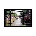 Amsterdam 35x21 Wall Decal