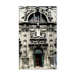 European Architecture 35x21 Wall Decal