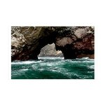 Peru Natural Arch 35x21 Wall Decal