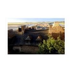Mt. St. Michel France 35x21 Wall Decal