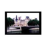 Paris France Architecture 35x21 Wall Decal