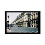 Paris France Streets 35x21 Wall Decal