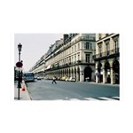 Paris Streets France 35x21 Wall Decal