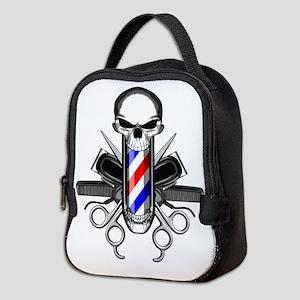 Barber Skull: Barber Tools Neoprene Lunch Bag
